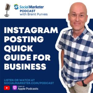 Instagram marketing podcast - social marketer brent purves social curator canada